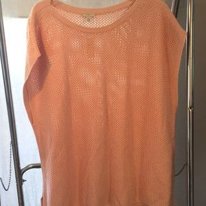 Talbots pink pullover sweater (NWT)